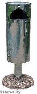 Roska-astia 30 litraa pesubetonijalusta rst