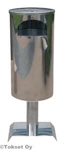 Roska-astia 60 litraa rst jalusta