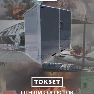 Litium Collector akkujen turvakaapit